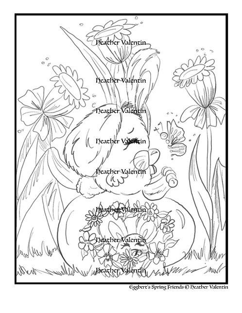 Eggberts Spring Friends