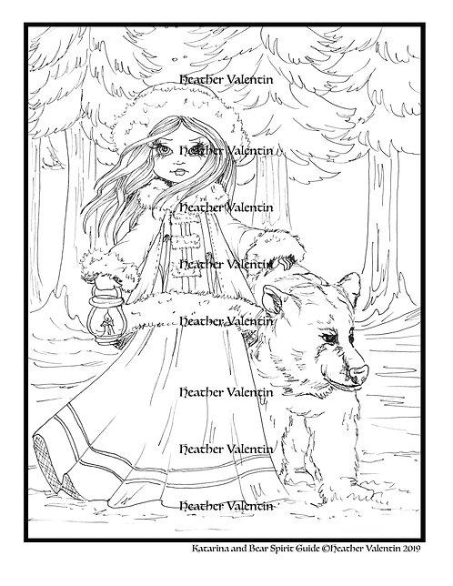Katarina and Bear Spirit Guide