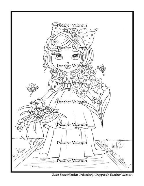 Gwen Secret Garden Melancholy Moppet