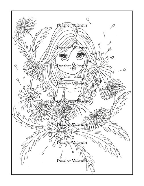 Dandelion Blooming Treasure
