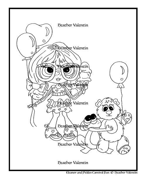 Eleanor and Pickles Carnival Fun