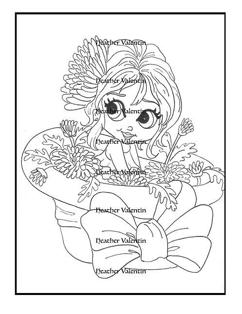 Chrysanthemum Flower Pot Pretty