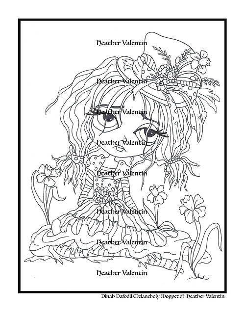 Dinah Daffodil Melancholy Moppet