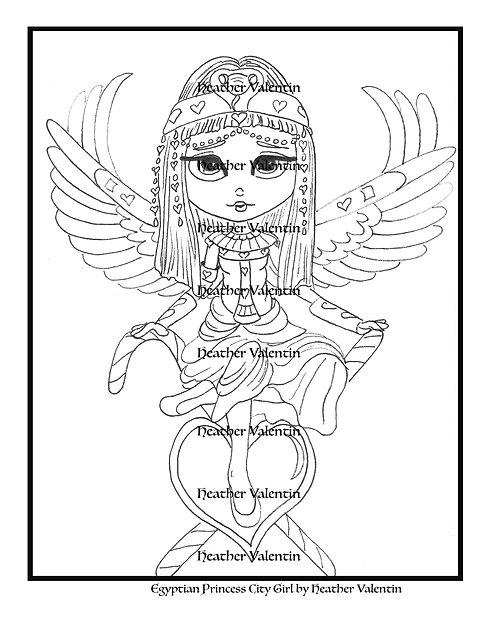 Egyptian Princess City Girl