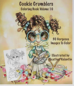 Cookie Crumblers Instant Download Coloring Book