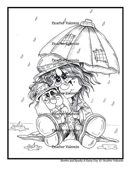 Bowbo and Sparky A Rainy Day