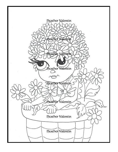 Daisy Ann Flower Pot Pretty
