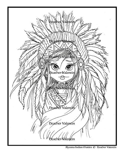 Alyanna Indian Maiden