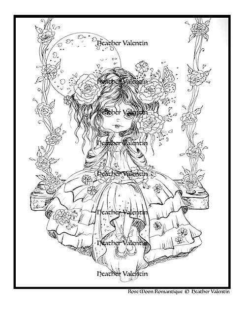 Rose Moon Romantique