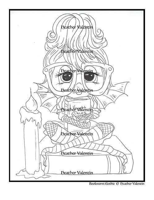 Bookworm Gothie