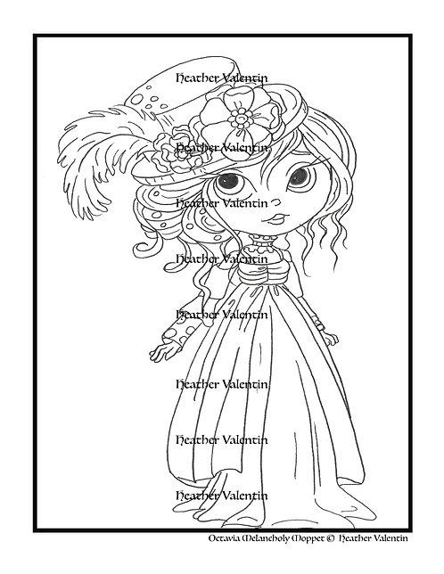 Octavia Melancholy Moppet