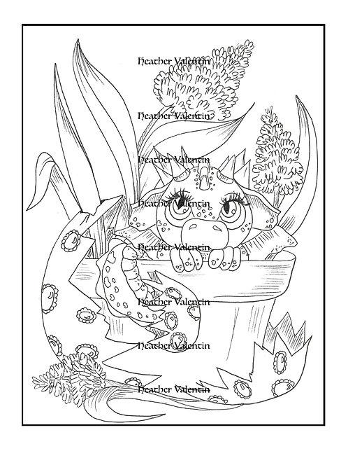 Dragocinth Flower Pot Hatchling