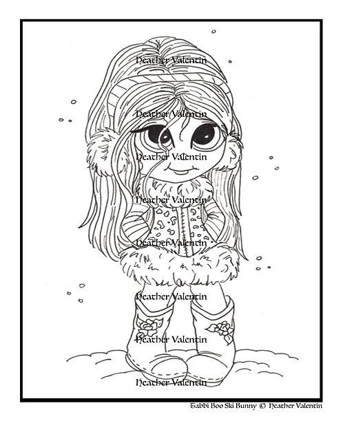 Tabbi Boo Ski Bunny