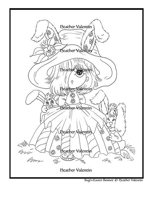 Sugi's Easter Bonnet