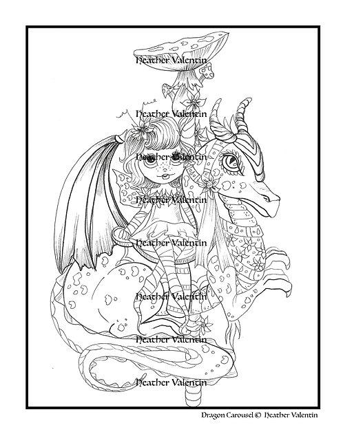Dragon Carousel