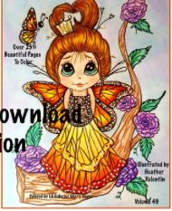 Buggmmee's Instant Download Coloring Book