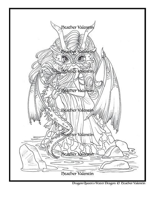 Dragon Queen's Water Dragon