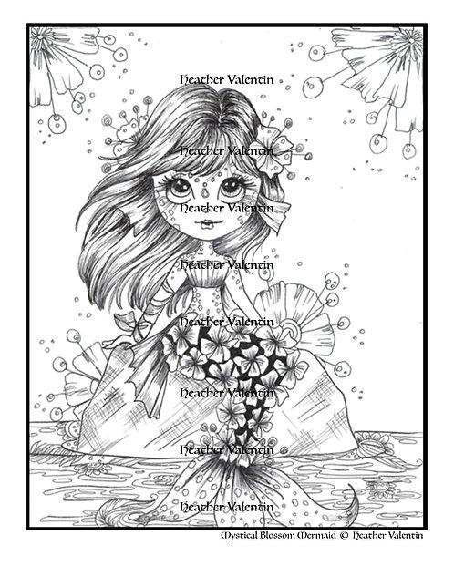 Mystical Blossom Mermaid