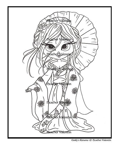 Emily's Kimono