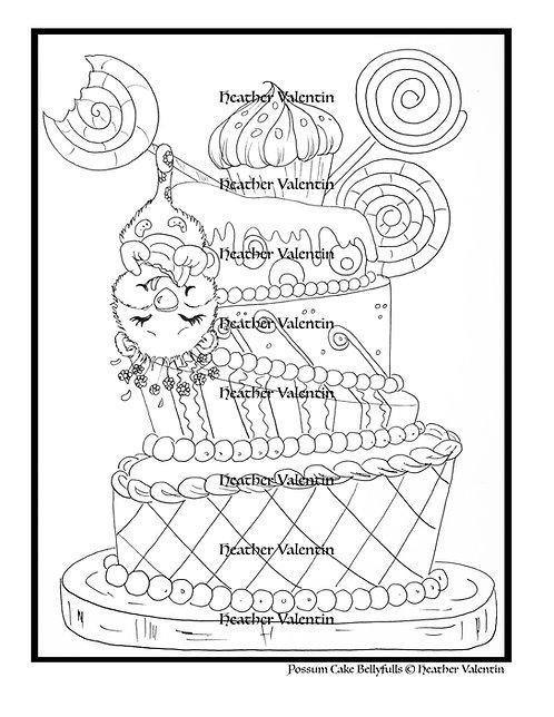Possum Cake Bellyfulls