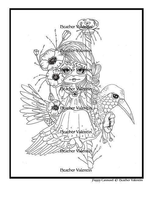 Poppy Carousel
