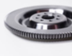 FEA optimized 1 pce. billet chromoly flywheel, Can be machined to renew surface. - Integral ring gear for OEM reliability.