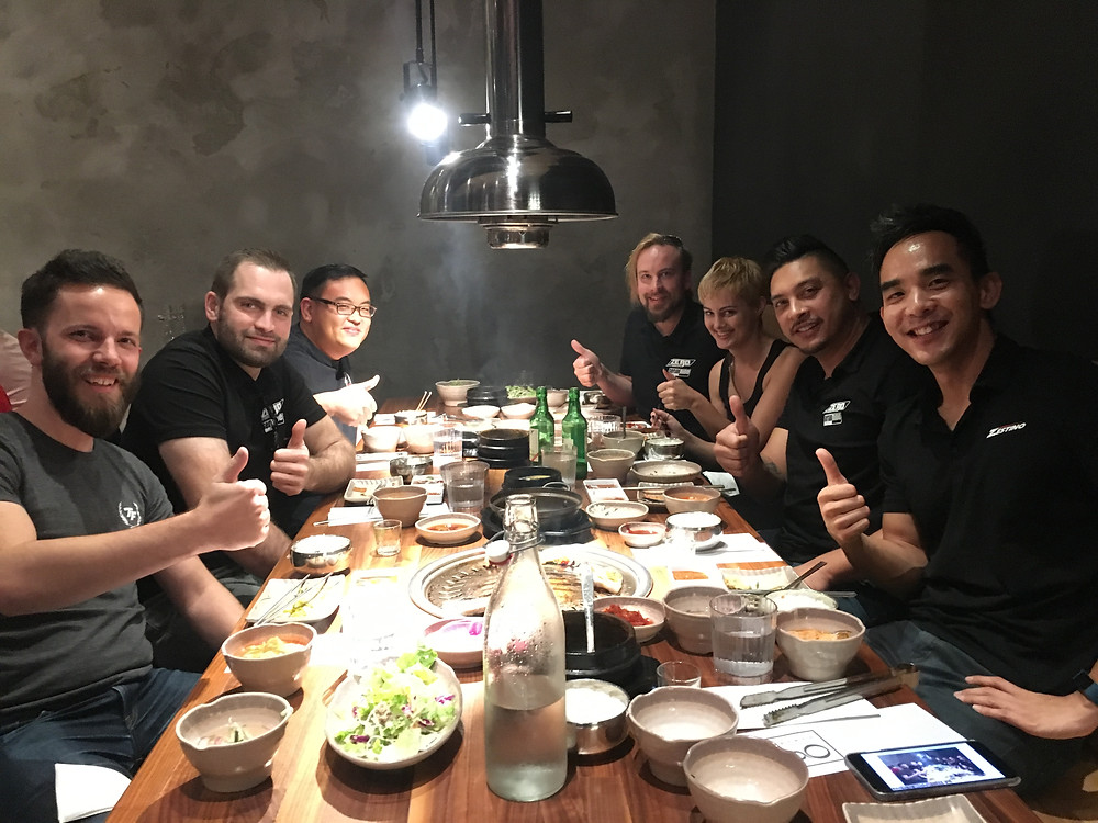 Dinner with Touge Factory