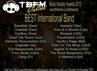 TBFM Music Industry Awards 2015