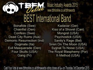 TBFM Music Industry Awards 2015
