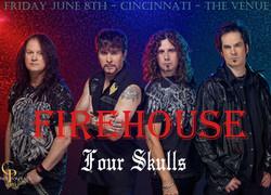 Firehouse & Four Skulls!