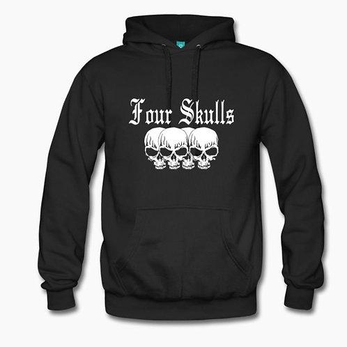 Four Skulls Hoodie