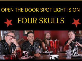 Open The Door Radio Spotlight on Four Skulls