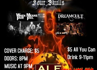 Four Skulls, Dreamcult, When Fair Means Fail Live!