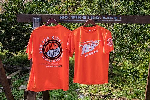 『COBR』オレンジバイカーズオリジナルTシャツ