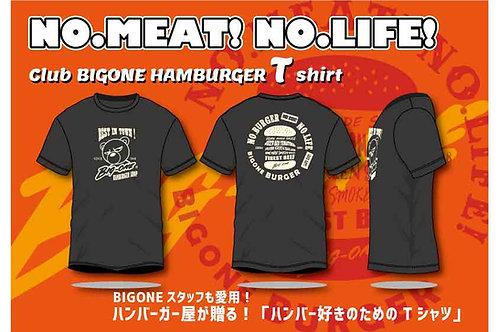 NO BURGER NO LIFE Tシャツ