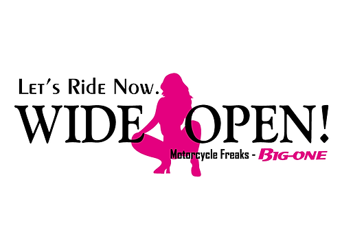 WIDE OPEN (車用BIG-SIZE)