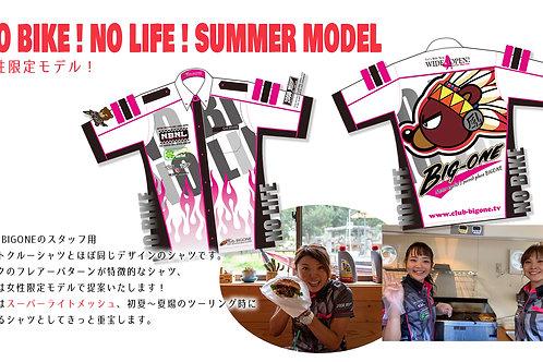 2019年モデル BIGONEピットクルーシャツ(女性限定モデル)