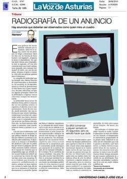 Radiografia de un anuncio