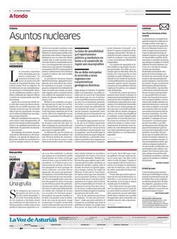 Asuntos nucleares