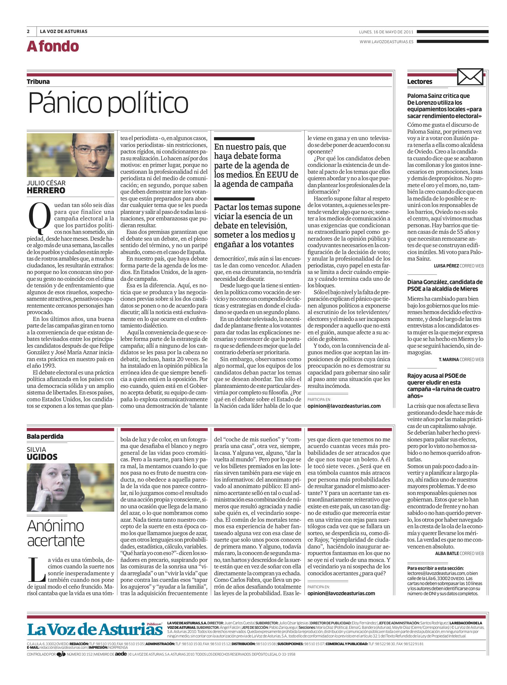 Pánico político