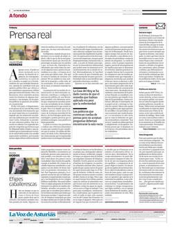 Prensa real
