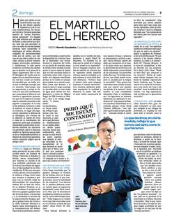 EL MARTILLO DEL HERRERO