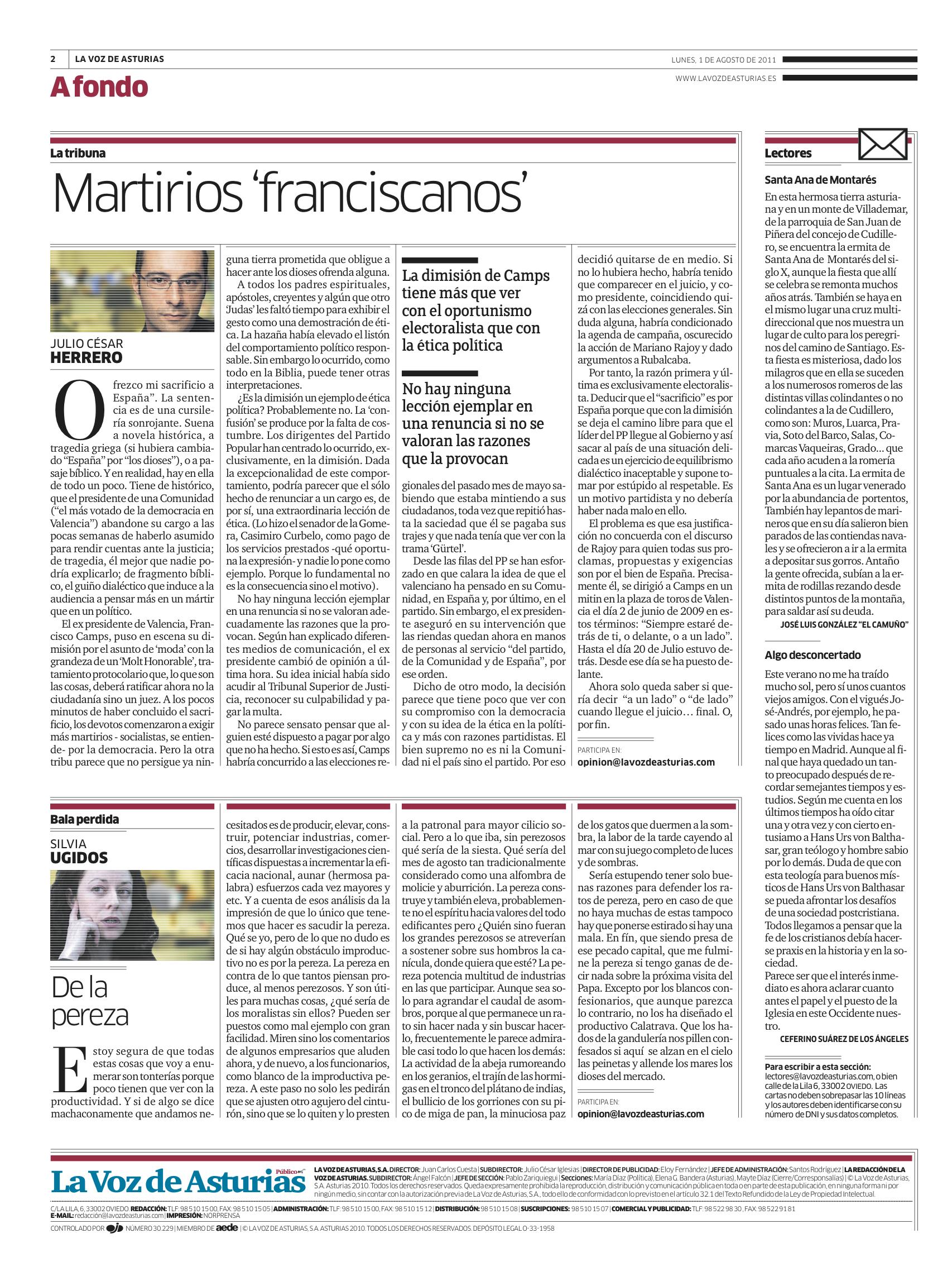 Martirios franciscanos