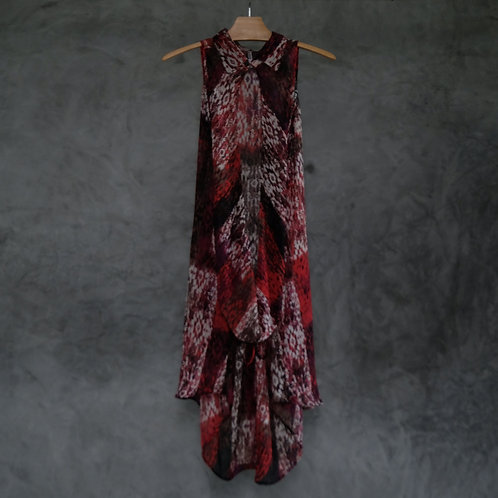 Halter Collar Dress