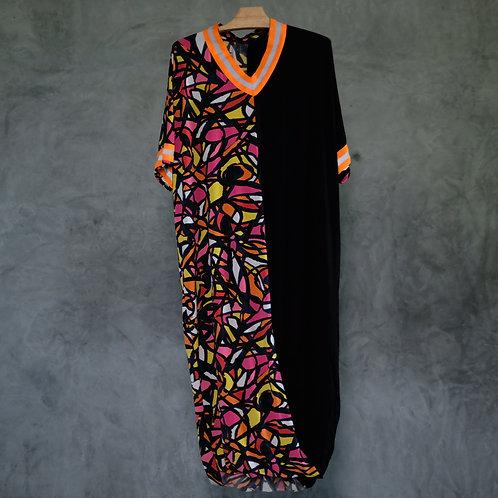 O-2MD01  I  2Materials Dress