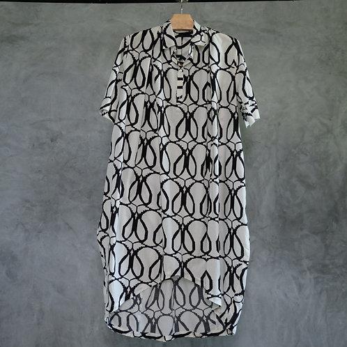 O-SLD09  I  Shirt Long Dress