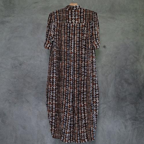 O-SLD11  I  Shirt Long Dress