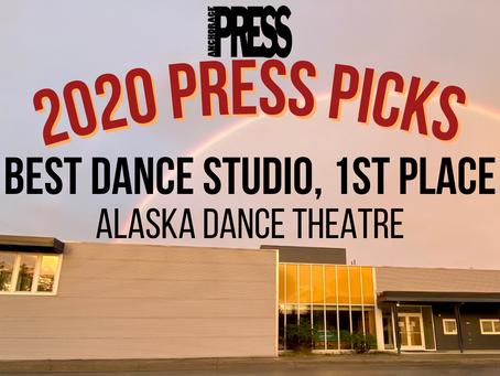 Alaska Dance Theatre Wins Anchorage Press Picks!