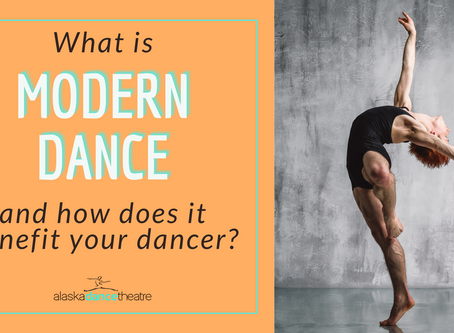 Modern Dance & How It Benefits Your Dancer