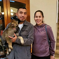Pink is going home with her new family!!